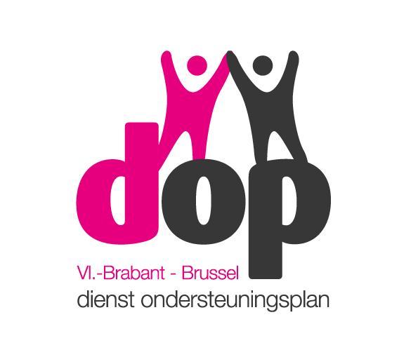 Logo DOP (Dienst Ondersteuningsplan) met link naar website