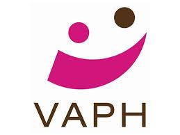 Logo VAPH (Vlaams Agentschap voor Personen met een Handicap) met link naar website