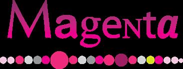 Logo Magenta met link naar website